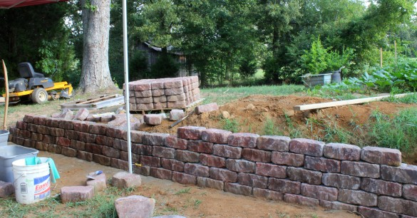 How To Build 6 215 6 Wood Retaining Wall Plans Diy How To Make