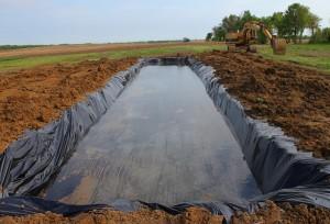 New test pond