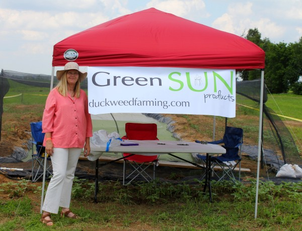 GreenSun booth at McCords Fundraiser